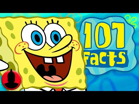 Thumbnail: 107 SpongeBob SquarePants Facts YOU Should Know! (ToonedUp #37) @ChannelFred