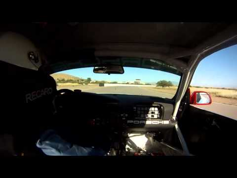 Onboard Porsche GT3R at Inde Motorsports Ranch