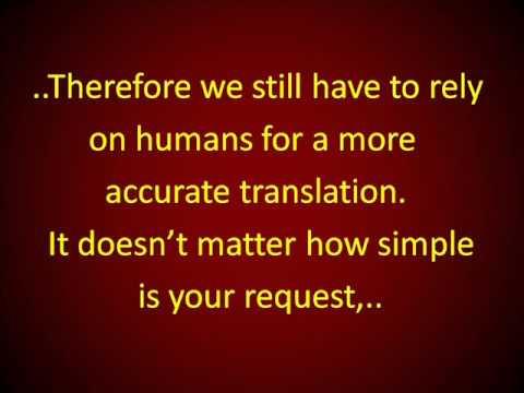 ¿Necesita Traducir Algo en Inglés o Español?  Pruebe Aquí..
