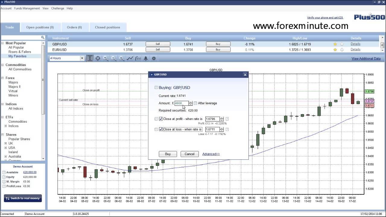 Forex vs plus500