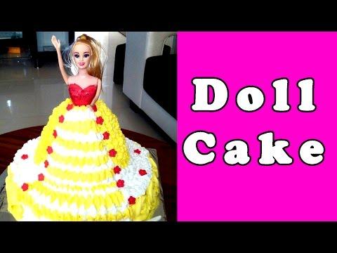 Sweetheart Barbie Doll Dress Cake Design from DecoPac Doovi
