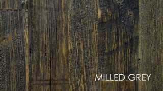Natural & Milled Barn Siding - Elmwood Reclaimed Timber
