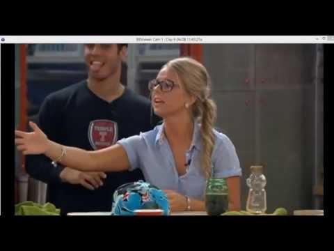 Cody and Hayden Make Fun of Nicole's Basketball Skills- Big Brother 16