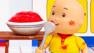 Caillou and Jelly | Caillou Cartoon