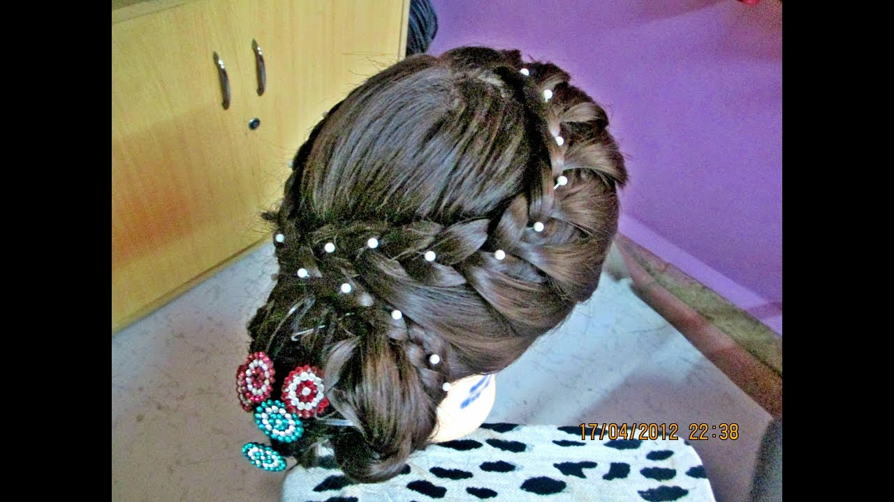 Latest Bridal Juda New Year Hairstyle 2018 Wedding Hairstyle For