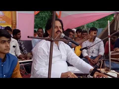 भरत शर्मा ब्यास लाइव निर्गुण - सुन कर सब रोने लगे - खोथा हs शरीर आत्मा है गौरैया- Live Nirgun Bhajan
