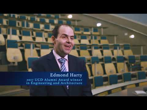 Professor Edmond Harty - UCD Alumni Award winner in Engineering and Architecture 2017