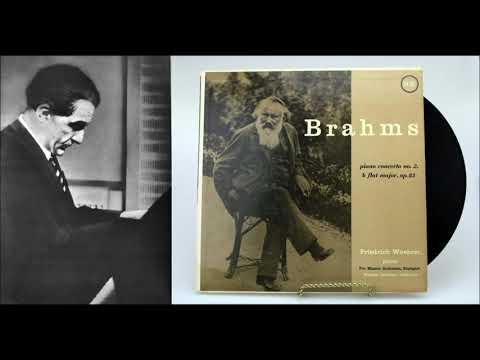"Brahms ""Piano Concerto No 2"" Friedrich Wührer"