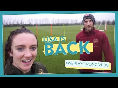 LISA is back on the pitch after FOUR weeks out! #WePlayStrong