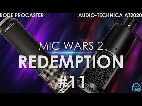 MIC WARS 2 | RODE PROCASTER vs. AUDIO-TECHNICA AT2020