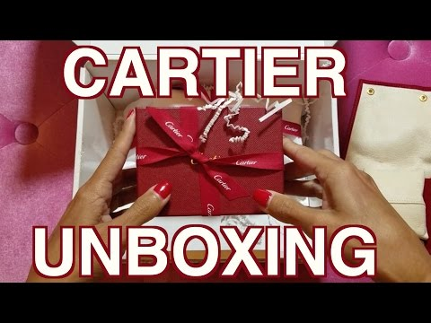 Cartier Unboxing – DIamond Love Ring