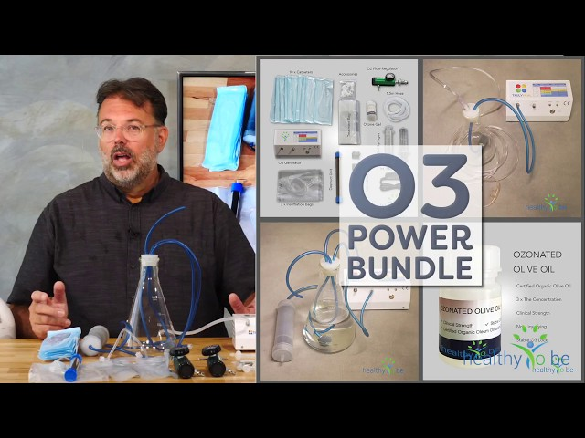 O3 Ozone Power Bundle - all Inclusive Accessories