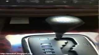 الدرس الرابع : قيادة السيارات الأوتوماتيك