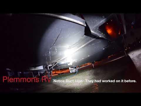 Plemmons RV Lemons! Bad Fresh Water Tank Raptor 332 TS sksst