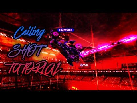 Ceiling Shot Tutorial | *ADVANCED* | Rocket League