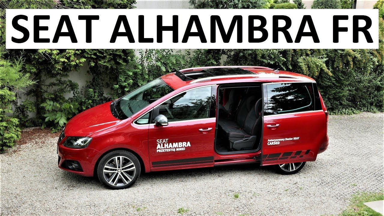 2017 seat alhambra fr review pl test 61 prezentacja. Black Bedroom Furniture Sets. Home Design Ideas