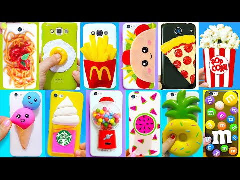 15 DIY Phone Cases (Food-inspired) | Easy & Cute Phone Projects #1