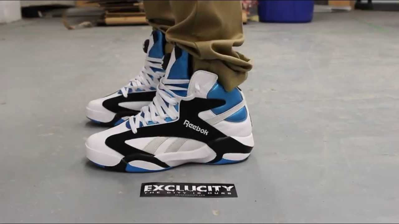 22249974656 Reebok Shaq Attaq On-feet Video at Exclucity - YouTube