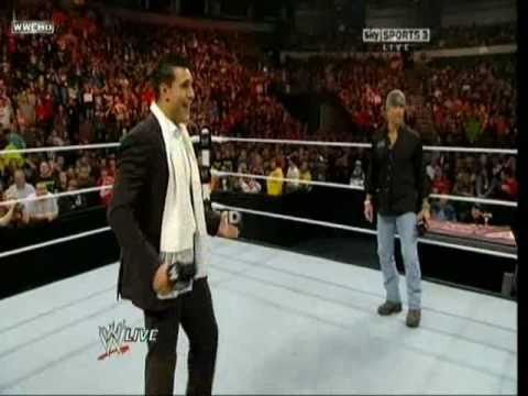 Shawn Michaels Is Inducted To The WWE Hall Of Fame 2011 Class