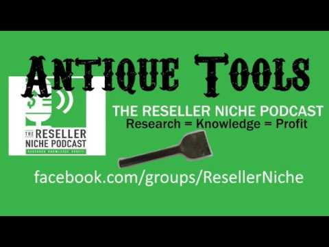RNPVideo002: Antique Vintage Baltimore USA Tools found in trash to sell on eBay