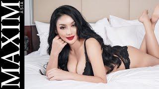 Nagita Silvie at Maxim Asia Magazine