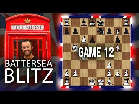 Battersea Blitz Chess Tournament: IM Bartholomew vs. Martin Devenney  [Round 12]