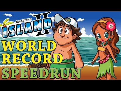 [World Record] Adventure Island II - Any% in 24:10