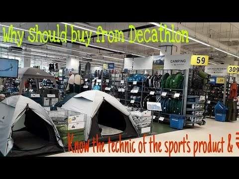 Decathlon Sport's Store | In India Review In Hindi | Gym, Trekking, Bagpaking, Motoriding,all Sports