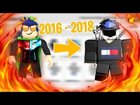 😱 ROBLOX KARAKTER EVRİMİM !! [2016 - 2018] 😱 / Roblox