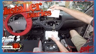We continue on a 04 Toyota Sequoia JBL factory stereo removal Installer Diaries 183 part 2