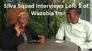 Lolo 1 Of Wazobia fm aka Adaku in Jenifas Diary Is interviewed by Silva Squad Channel
