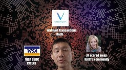 VISA Patent for digital dollar, VET Walmart transactions Back, JK Rowling and Bitcoin