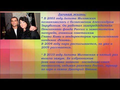 Краткая биография Лолиты Милявской