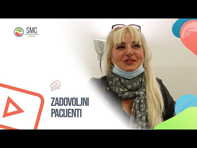 Zadovoljna pacijentkinja - Nehirurska korekcija nosa