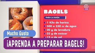 Desayuno Gusto - ¡Aprenda a cocinar Bagels! - Mucho Gusto 2017