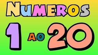 Números do 1 ao 20 para crianças - Ep. 15