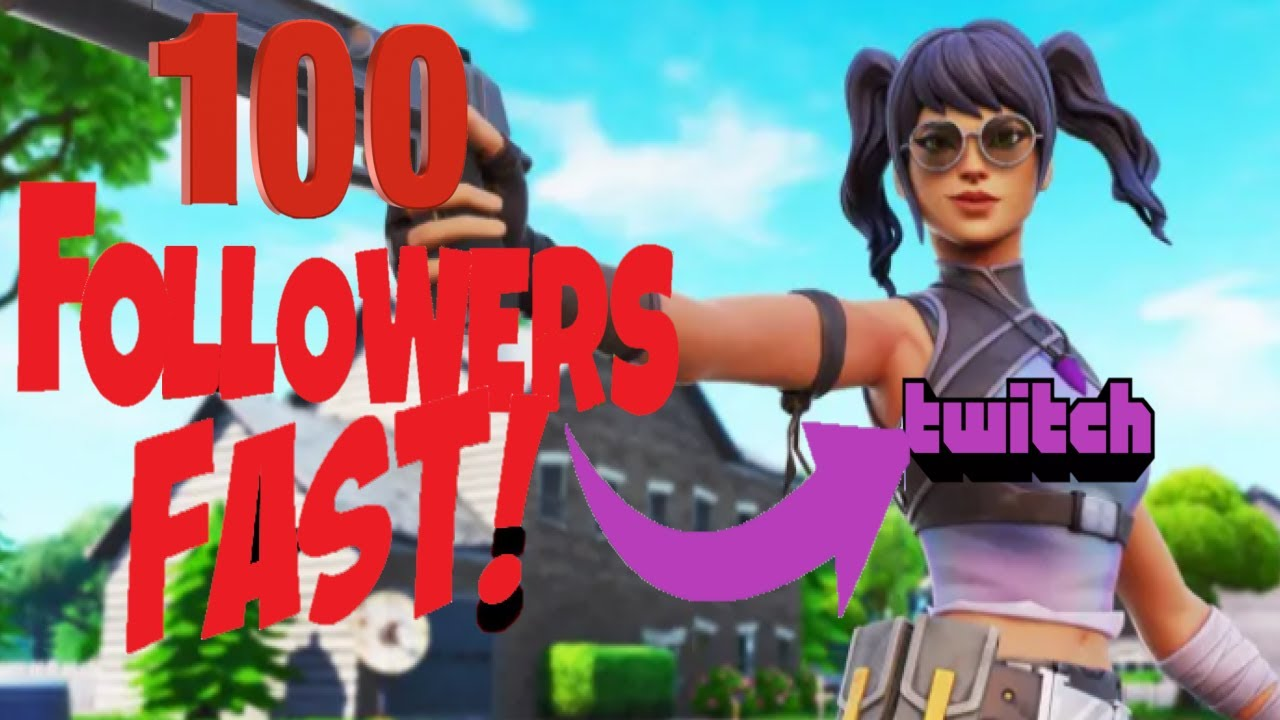 HOW TO GAIN 100 FOLLOWERS A WEEK ON TWITCH -2019
