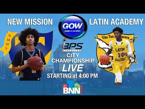 Game of the Week: 2021 Boys Boston City Championships - New Mission Titans vs. Latin Academy Dragons