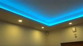 Repeat youtube video Taśma led smd RGB podświetlenie sufitu w holu