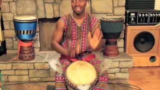 International Master Drummer, Dramane Kone - Djembe Kan 1