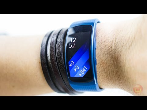 Samsung Gear Fit 2 Test - Was kann der smarte Fitness-Tracker? | 4k
