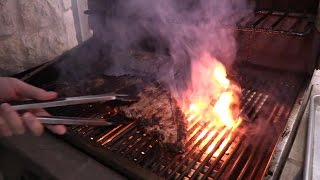 grilled skirt steak fajitas