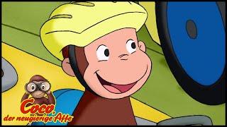 Coco der Neugierige Affe 🐵Das Seifenkistenrennen 🐵Ganze Folgen 🐵Kinderfilm🐵Staffel 5