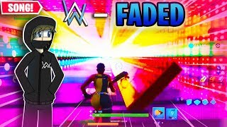 Fortnite ALAN WALKER - FADED in Creative Music Map (Code in the description)