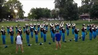 2014 Carolina Crown Hit List   DCI Qtr Finals Brass Warmup