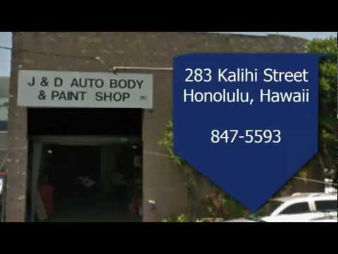 J And D Auto >> J D Auto Body Repair Honolulu 847 5593 Youtube