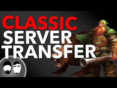 WOW Classic FREE Server transfers!   Wow Classic News