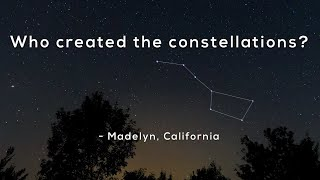 Who created the constellations? YouTube Videos