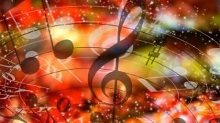 Футаж-фон МУЗЫКАЛЬНЫЙ - 1. Musical Video Background HD