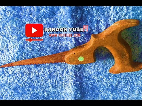 Fully Rusted 100 Years Old Hand Saw Restoration - IMPOSSIBLE RESTORATION